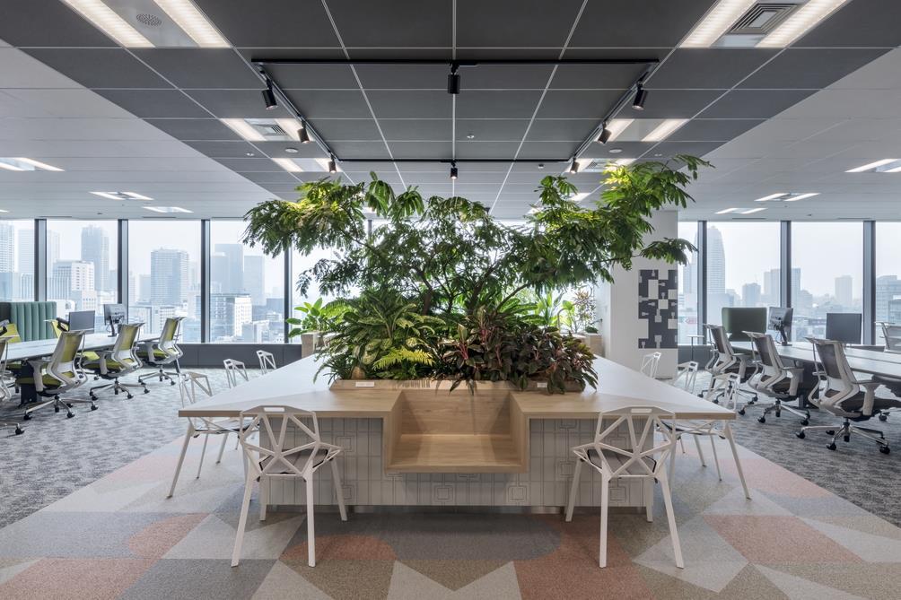 日本軽金属グループ様の綺麗なオフィス