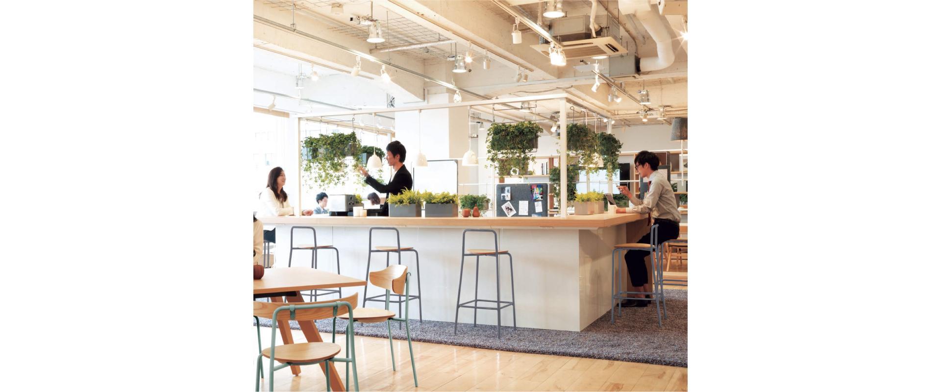 カフェ風のオフィス