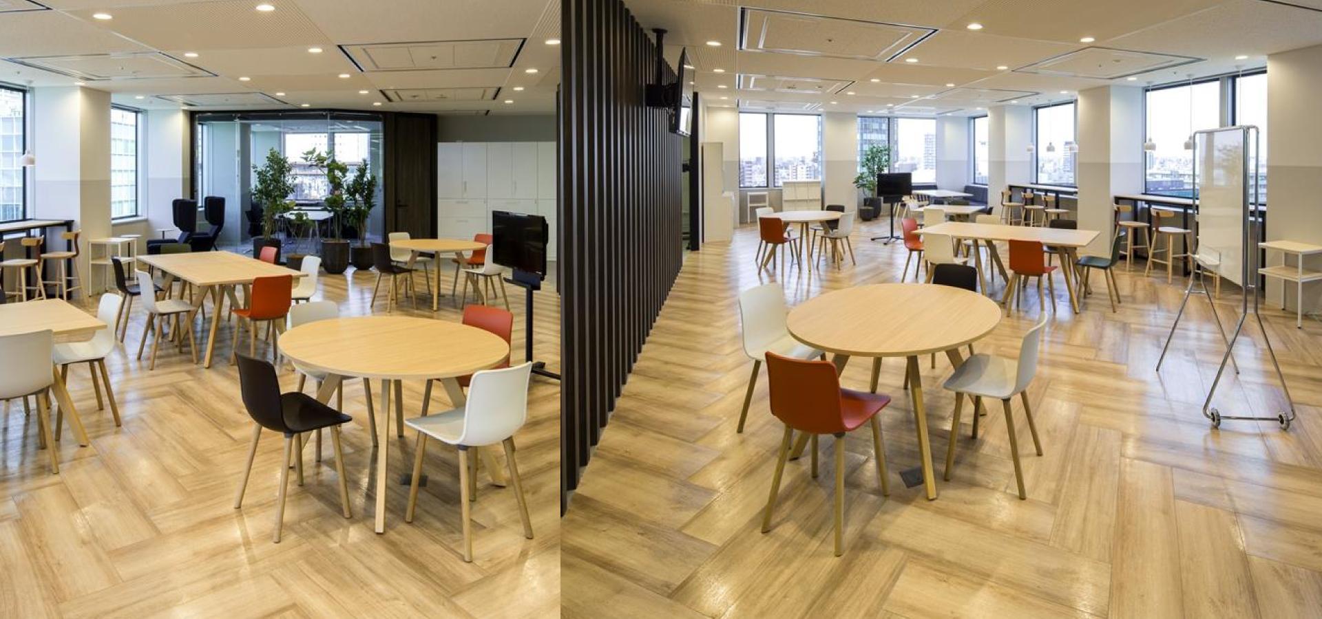クローダジャパン様のオフィスカフェ事例