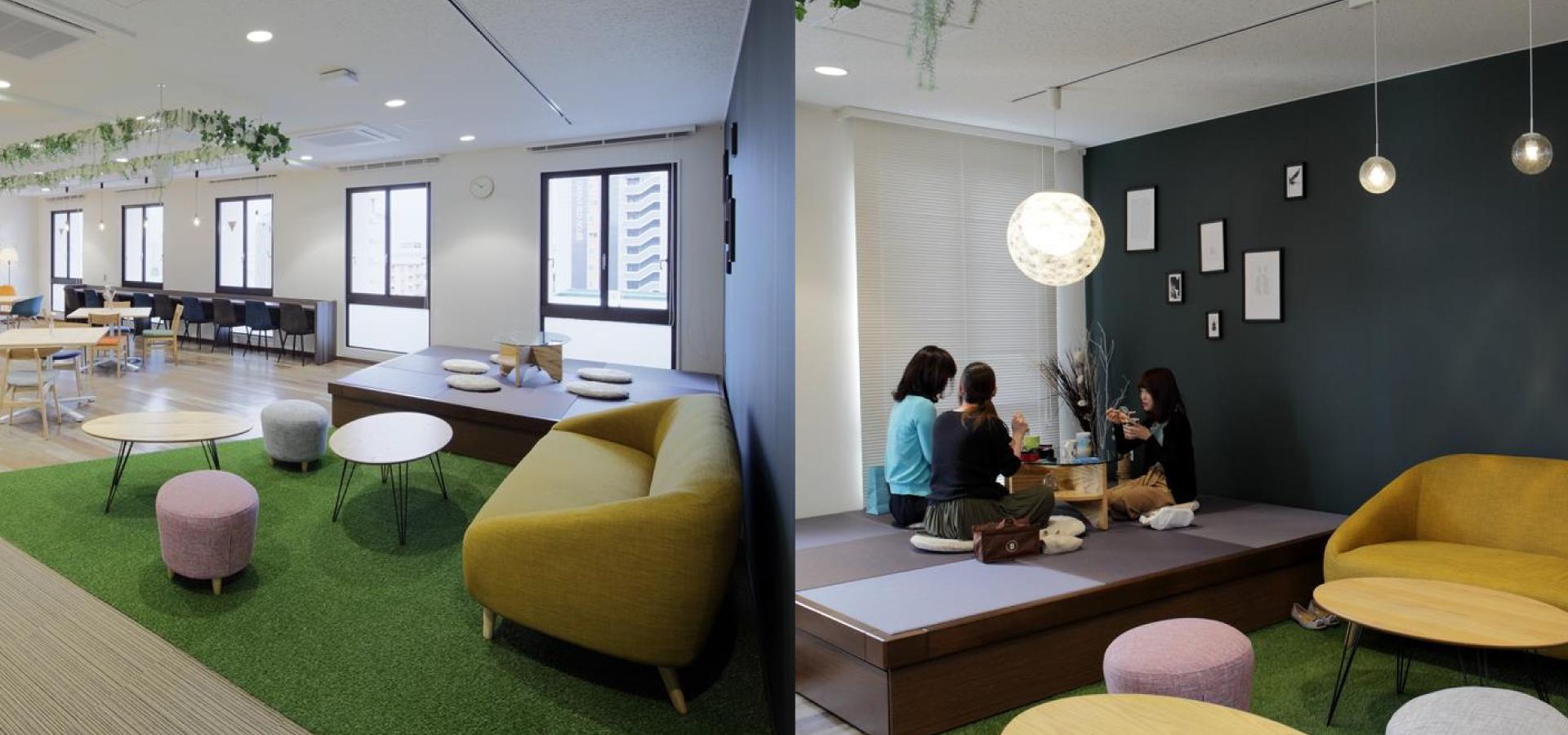 西部ガスリビング様のオフィスカフェ事例